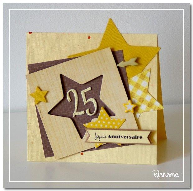 Carte pour ado anniversaire scrapbooking