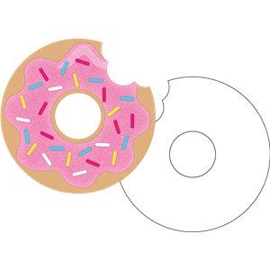 Carte anniversaire donuts