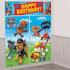 Carte anniversaire pat patrouille 4 ans