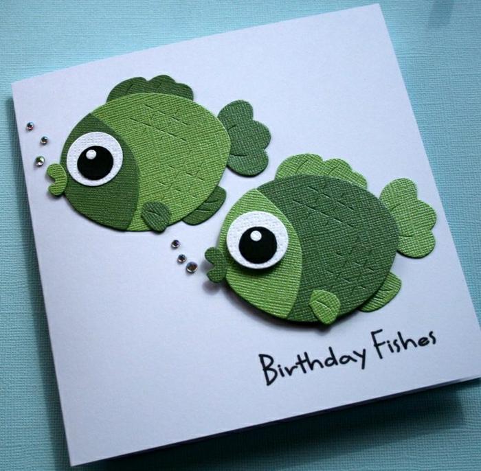 Carte anniversaire enfant a faire soi meme