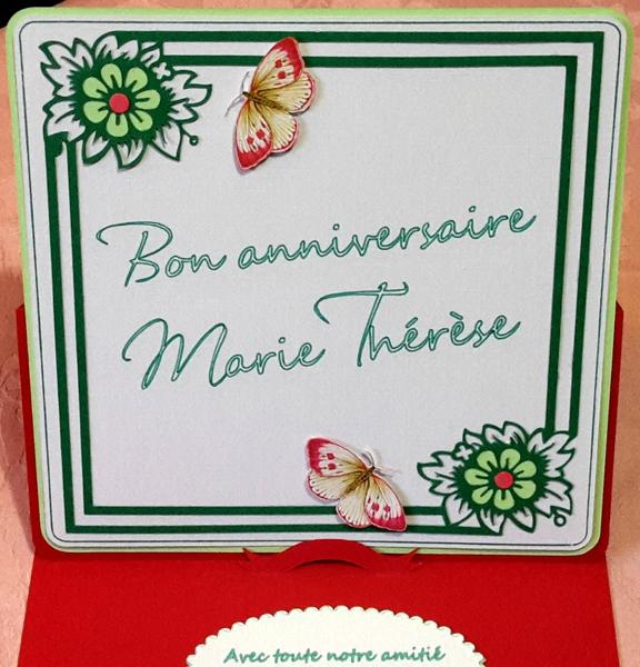 Carte invitation anniversaire ch'ti