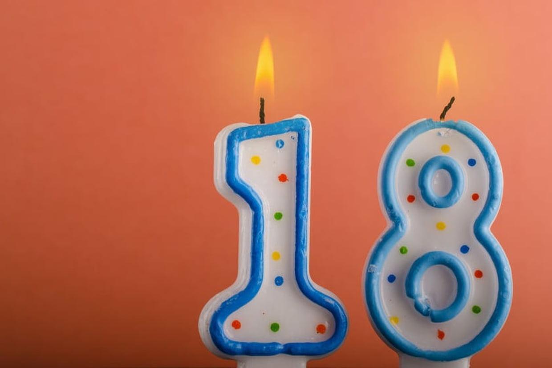 Texte pour un 18eme anniversaire