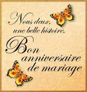 Texte anniversaire de mariage 75 ans