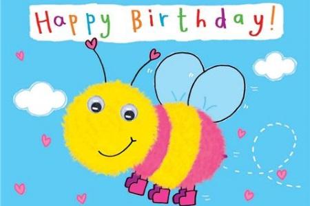 Carte joyeux anniversaire enfant