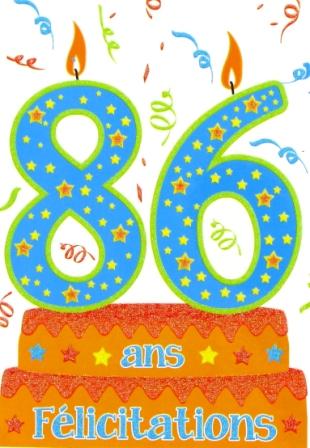 Texte anniversaire papy 86 ans