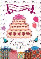 Carte joyeux anniversaire publisher