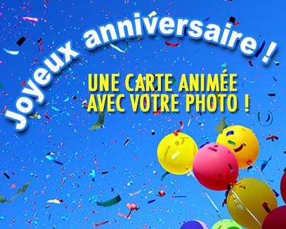 Carte animée joyeux anniversaire facebook