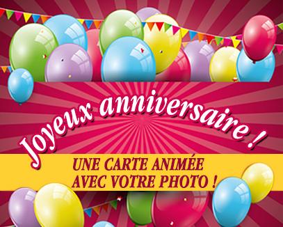 Carte virtuelle anniversaire enfants gratuite
