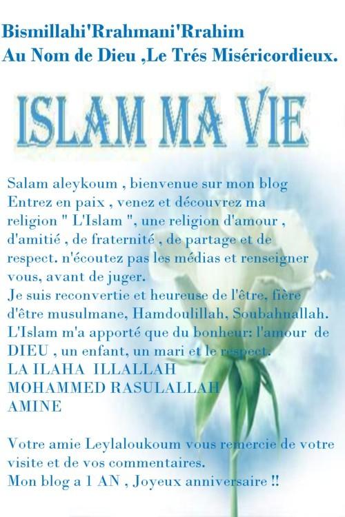 Carte anniversaire musulman
