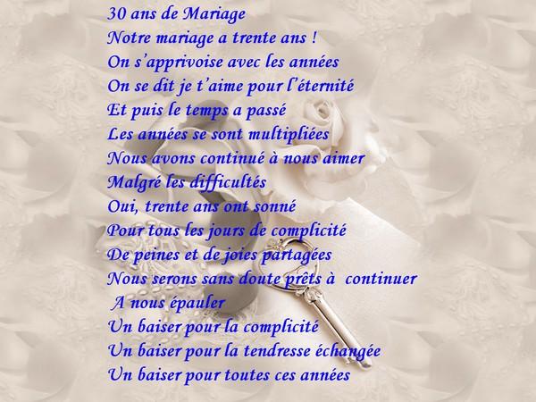 Message pour anniversaire 60 ans de mariage