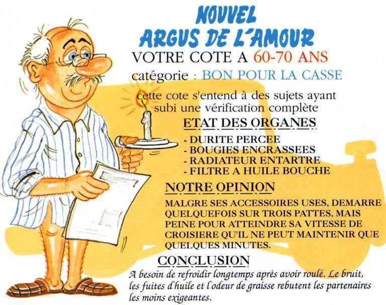 Carte anniversaire 70 ans humour