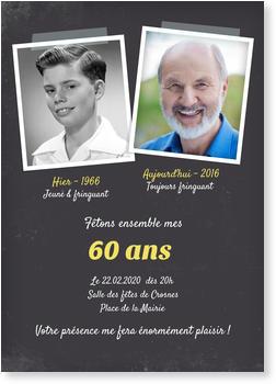 Texte invitation anniversaire homme 80 ans