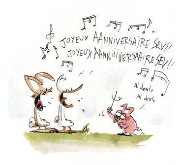 Carte anniversaire qui chante