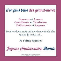 Message anniversaire mamie 89 ans