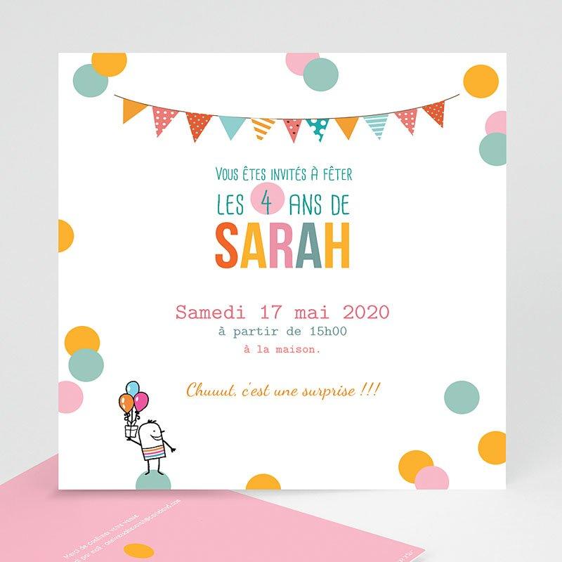 Texte d'invitation anniversaire enfant