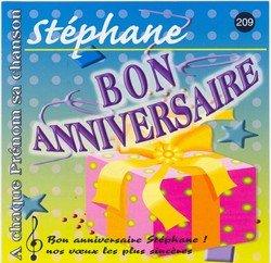 Carte anniversaire stéphane