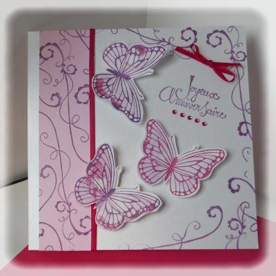 Création de carte pour un anniversaire