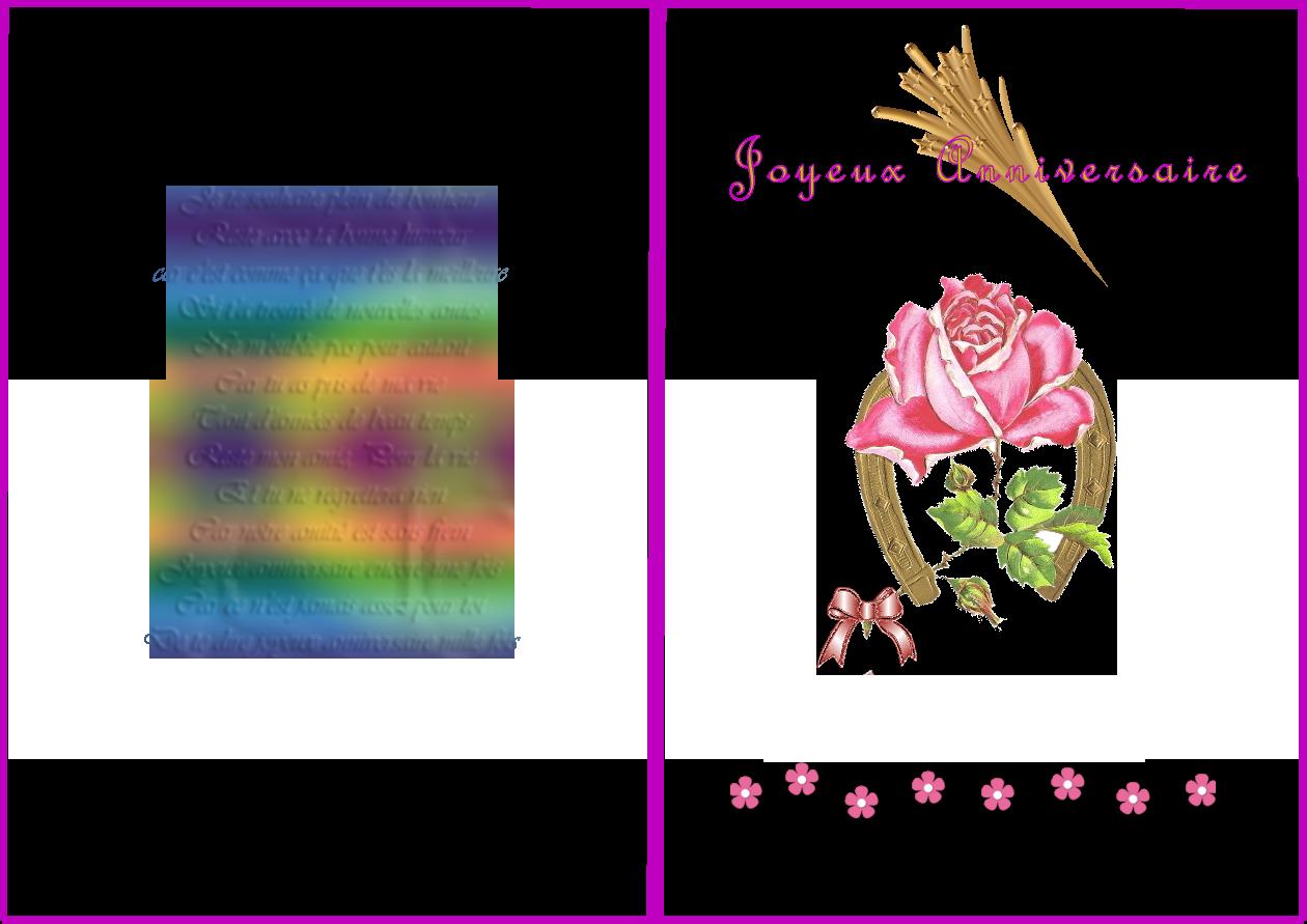Texte carte anniversaire fille 2 ans