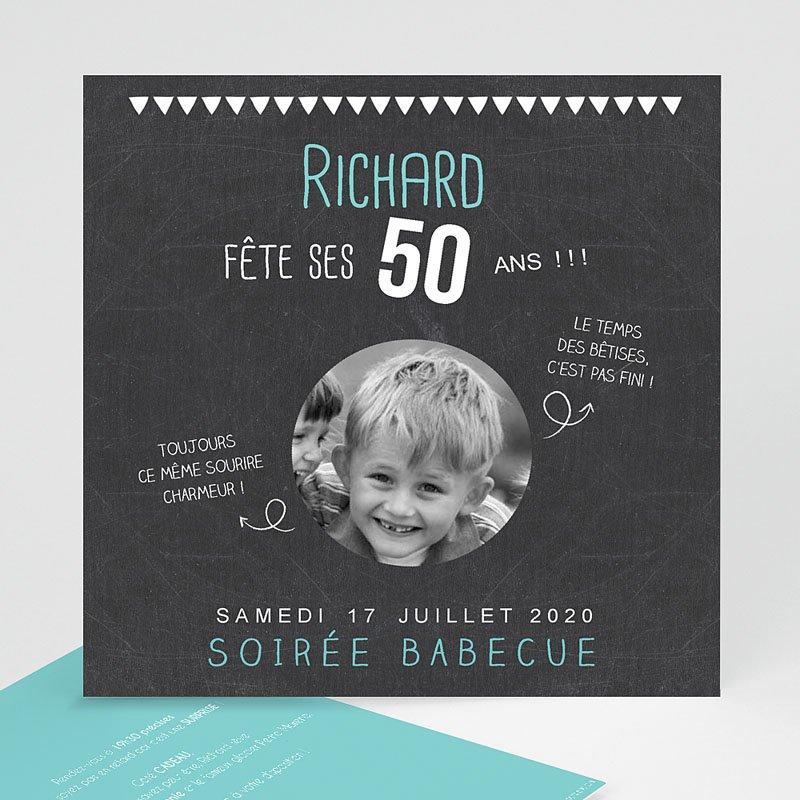 Texte simple invitation anniversaire 50 ans