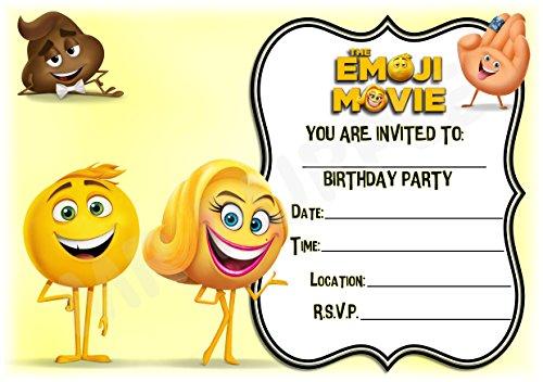 Emoji carte anniversaire
