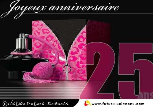 Carte anniversaire gratuite 25 ans