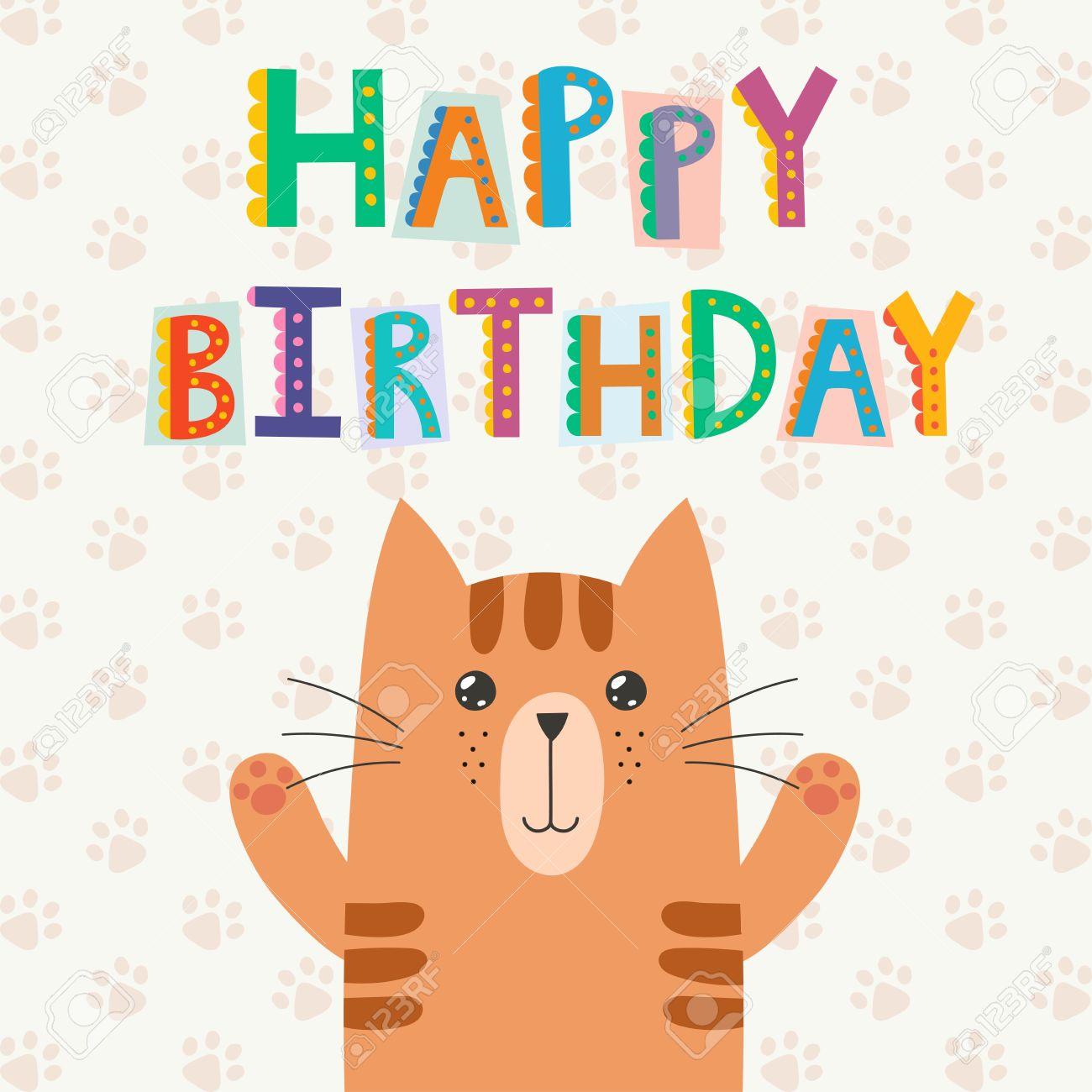 Texte anniversaire avec chat