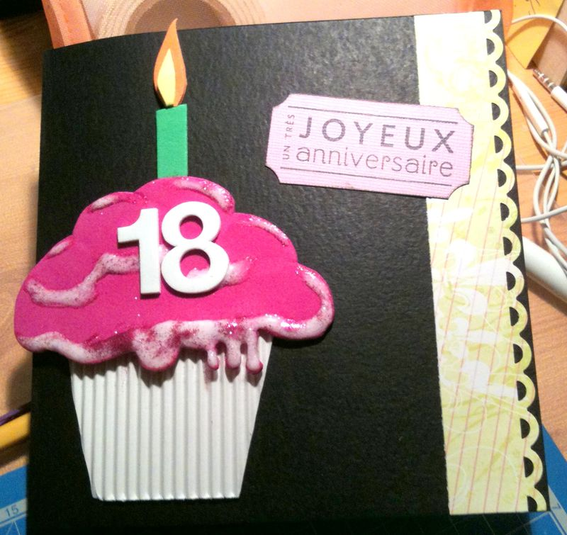 Faire une carte pour un anniversaire