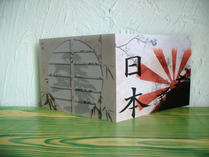 Carte invitation anniversaire japon