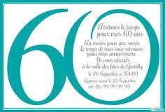 Texte humour pour anniversaire 60 ans