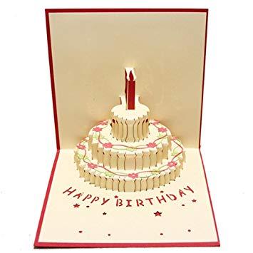 Diy carte anniversaire 3d