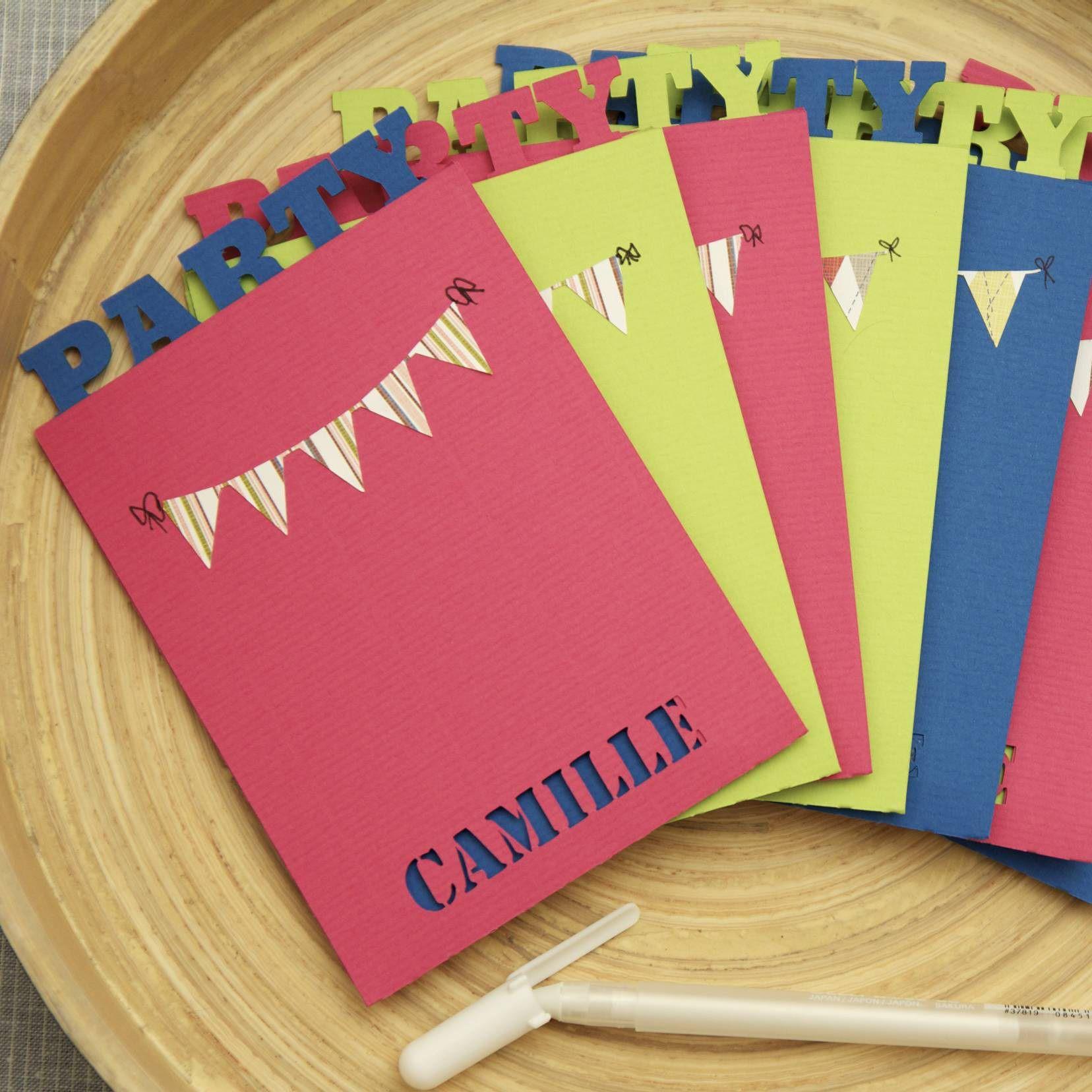 Fabrication carte invitation anniversaire gratuit
