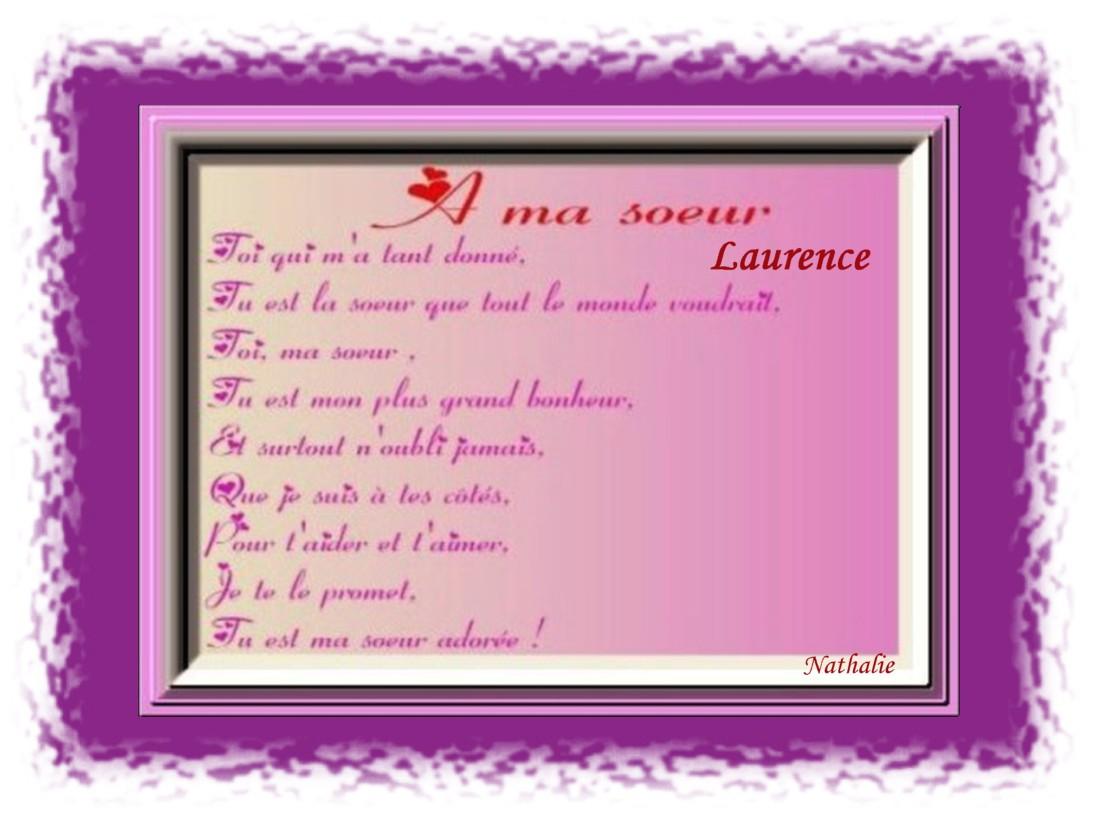 Texte anniversaire pour soeur