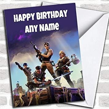 Carte anniversaire fornite