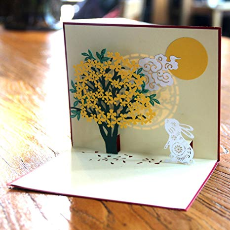 Carte pop up anniversaire enfant