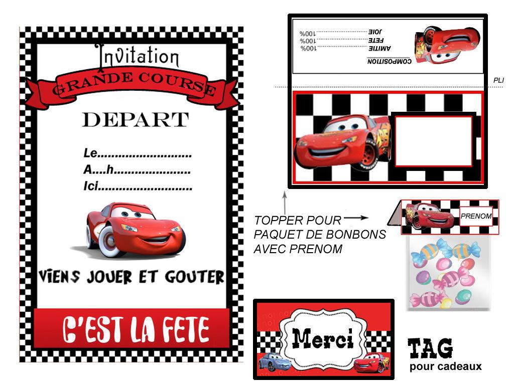 Carte Anniversaire Cars A Imprimer Elevagequalitetouraine