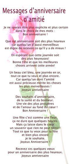 Texte anniversaire pour une danseuse