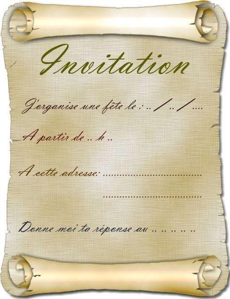 Carte d'invitation anniversaire gratuite à imprimer adulte