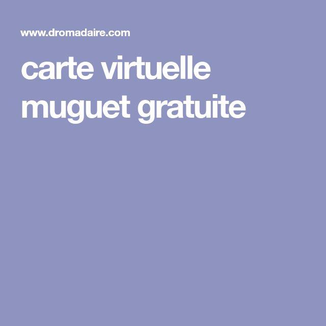Dromadaire carte anniversaire gratuite muguet
