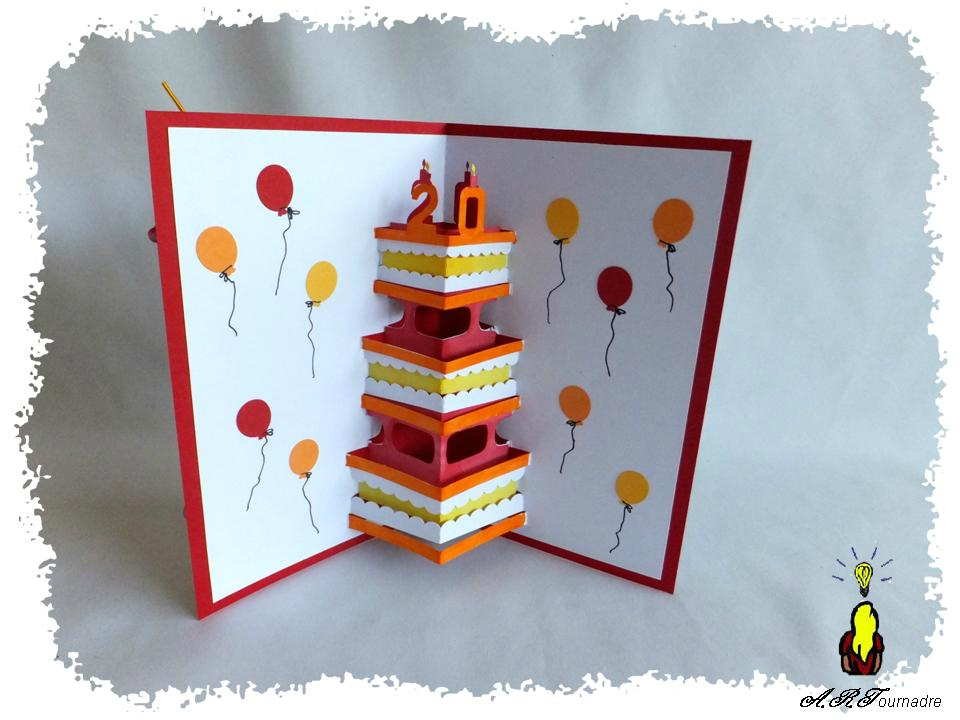 carte pop up anniversaire imprimer Carte anniversaire pop up imprimer   Elevagequalitetouraine