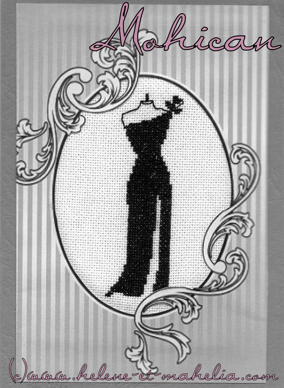 Carte anniversaire la petite robe noire