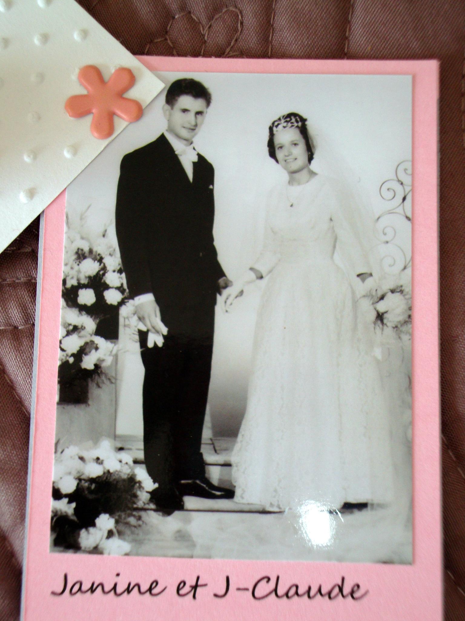 Texte anniversaire de mariage 60 ans parents