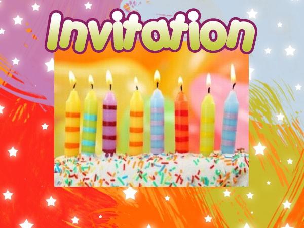 Carte d'invitation anniversaire gratuite a envoyer par mail - Elevagequalitetouraine