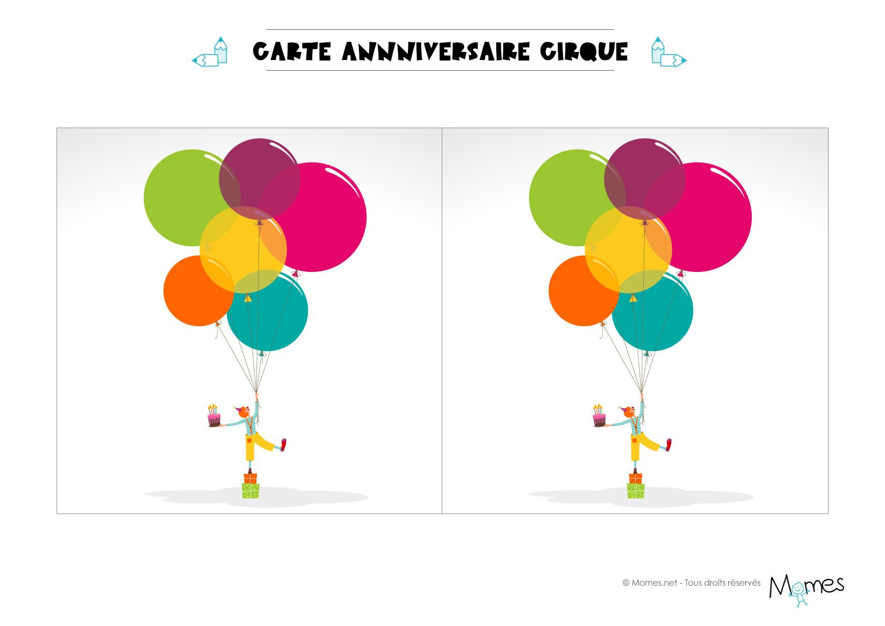 Image Carte Anniversaire A Imprimer Elevagequalitetouraine