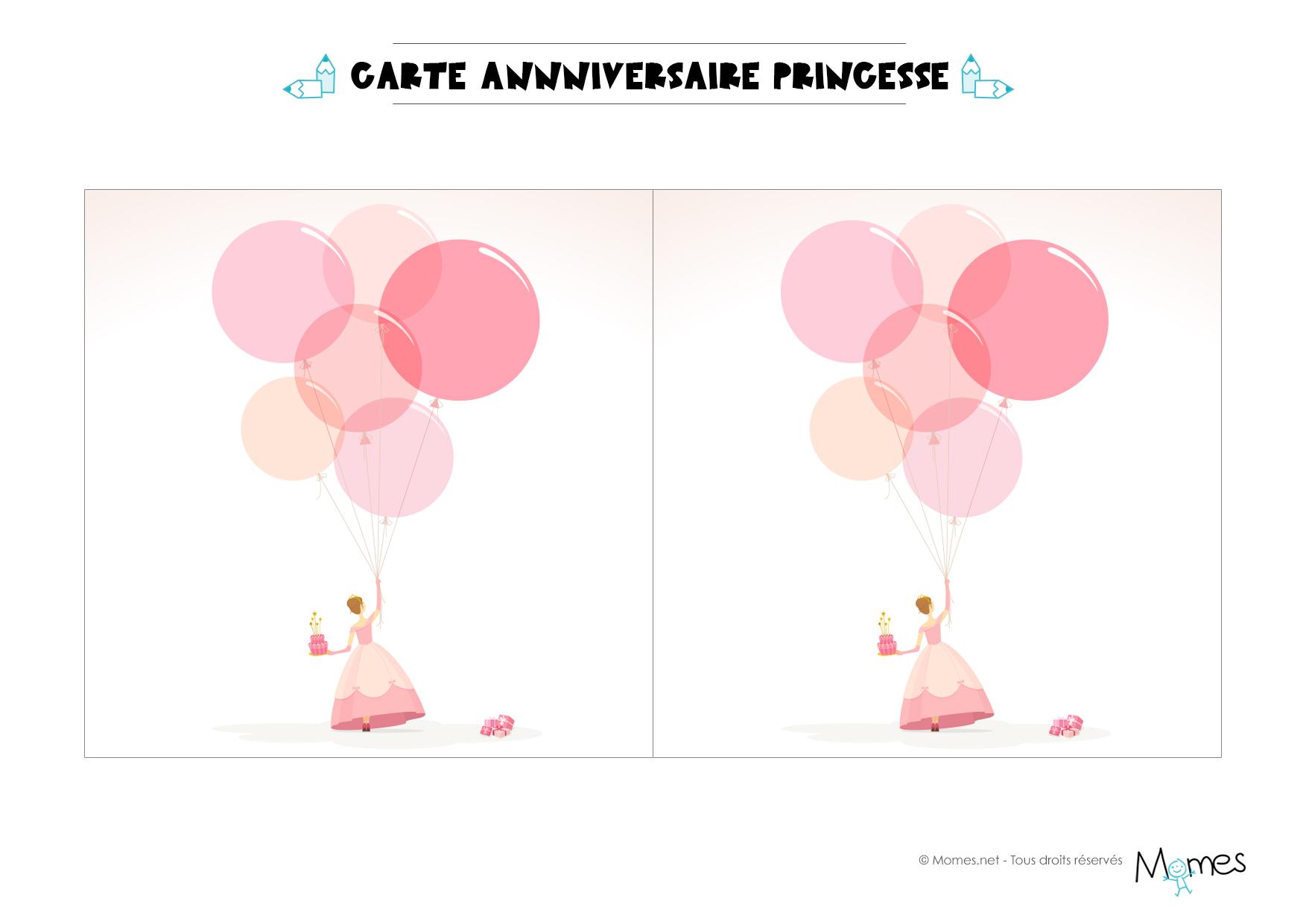 Carte Invitation Anniversaire Princesse A Imprimer Elevagequalitetouraine