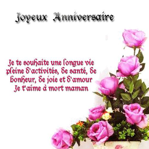 Jolie carte anniversaire texte