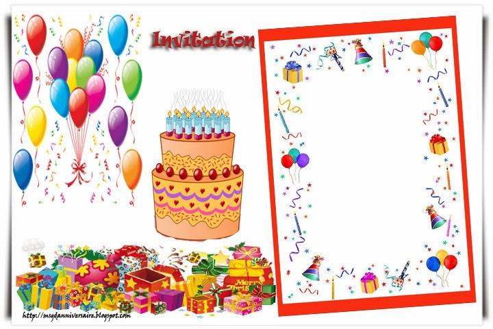Carte anniversaire à imprimer gratuite 65 ans