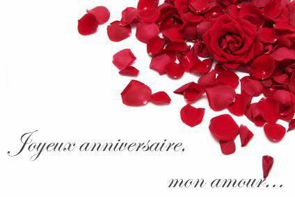 Carte anniversaire mariage virtuelle