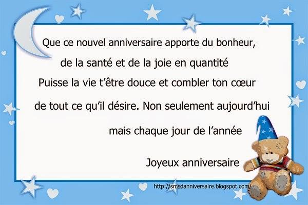 Message pour souhaiter joyeux anniversaire a un ami