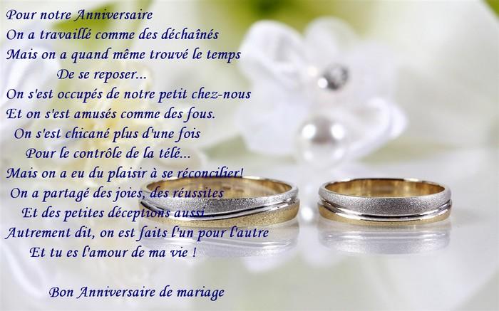 Message anniversaire 5 ans de mariage