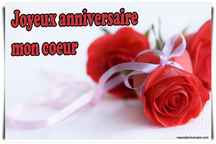 Message de joyeux anniversaire amoureux
